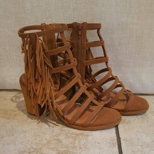 Mari A Shoes - NEW brown strappy sandals