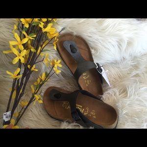 Birkenstock Shoes - Birkenstock gizeh rhinestone sandals women 36