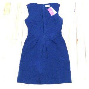 Original Penguin Dresses & Skirts - Original penguin slvless navy dress sz 0 nwt $125