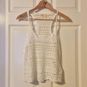 Light Crocheted Top