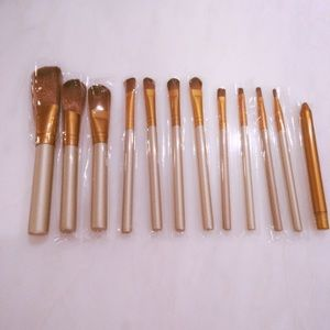Other - 12 piece makeup brush set
