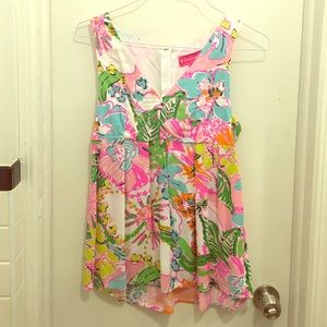 Lilly Pulitzer for Target Tops - Lilly for Target Sleeveless Blouse