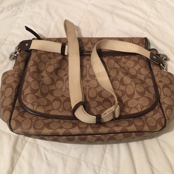 b5e0b618d5c5 Coach Handbags - Coach messenger   diapers bag.