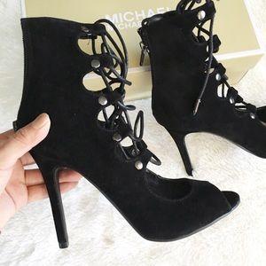 Shoe republic LA Shoes - Black strappy heels