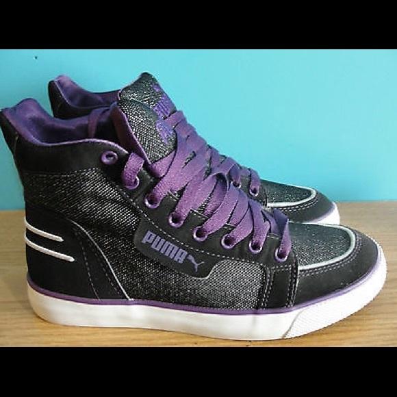 high top pumas purple 2fba74719
