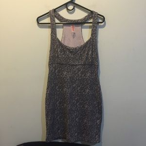 Free People Dresses & Skirts - FREE PEOPLE Leopard Printed Bodycon Dress