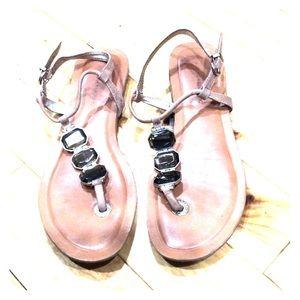 🎉HOST PICK Banana republic leather sandals sz 8