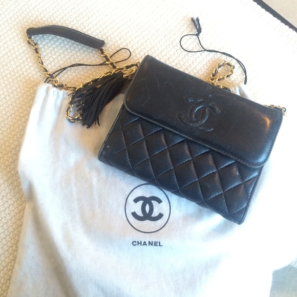 a128246f5520 Chanel Handbags - Vintage Chanel-dust-bag included!