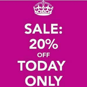 Bundle and save! 20% off TODAY ONLY!