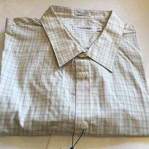 Other - Calvin Klein Long Sleeve Dress Shirt ❤️XL:TG