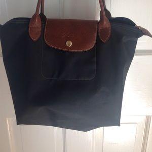 Longchamp bag. Navy blue