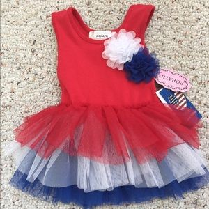 Popatu Other - NWT Popatu Fire Cracker Tulle Dress