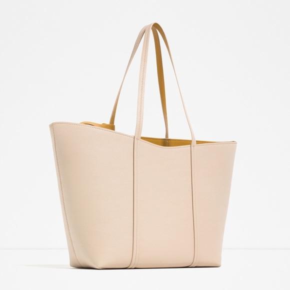 db3db4e5bd9 Zara Bags | Nwt Reversible Tote Bag | Poshmark