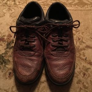REDUCED Rockport Lace-up Brown Leather Shoes