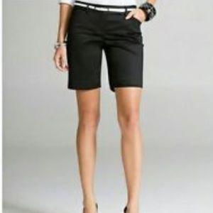 Express Pants - Express Black Editor Bermuda Shorts