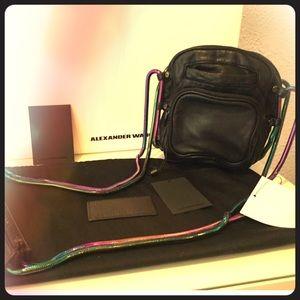 Set Alexander wang iridescent Brenda bag + wallet