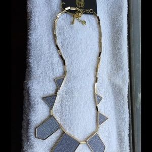 House of Harlow 1960 Jewelry - House of Harlow blue gray station necklace