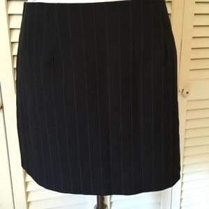 Unbranded Wide pinstripe  mini Skirt Size Large