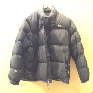 Men's black North Face bubble jacket sz XXL