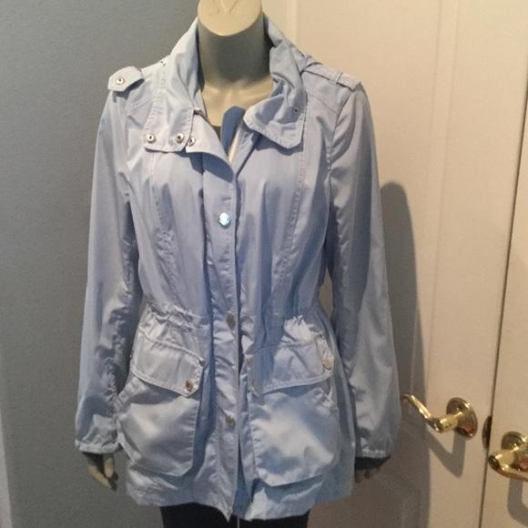 Light Blue Rain Jacket Jackets Review
