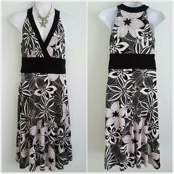 Dress Barn Dresses Plus Size Elegant Floral Dress Poshmark