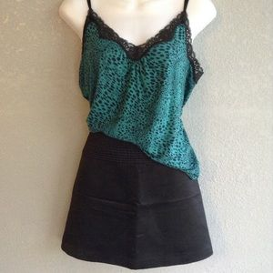 Behnaz Sarafpour Dresses & Skirts - Cute silky black mini skirt juniors13 NWOT