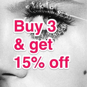 Buy 3 & get 15% off