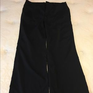 Hiking pants black
