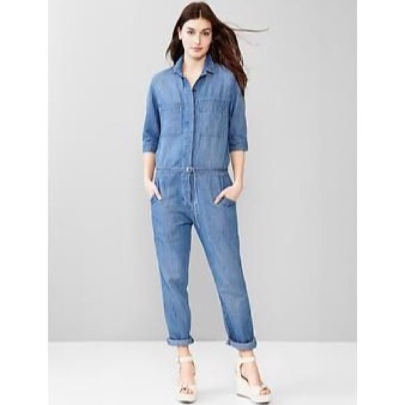 7ada12031c9b Gap Pants - Gap 1969 denim romper S