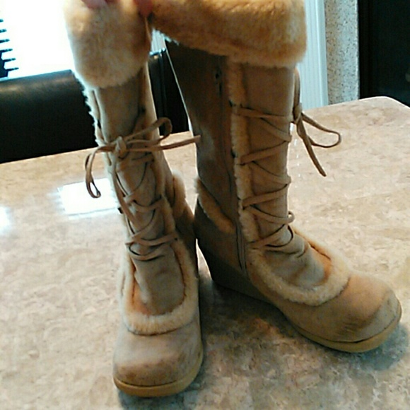 groove - Super cute winter boots with inside side zipper