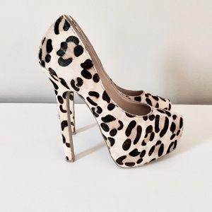 Steve Madden Shoes - Leopard Platform Pumps