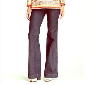 NWT Tory Burch dark high rise flare jeans- Sz 29