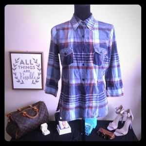 ✨Cute Plaid Blouse✨
