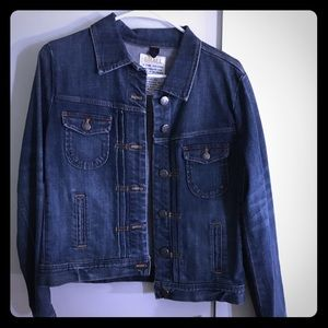 J crew denim jacket size small!