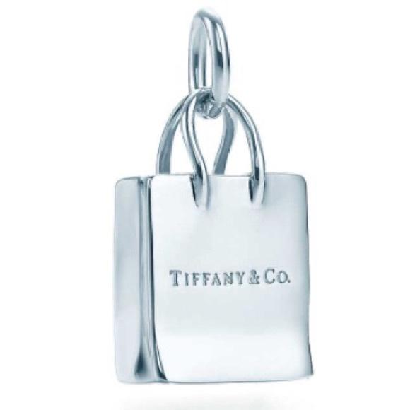 20662750f1 Tiffany & Co. Jewelry | Tiffany Co Shopping Bag Charm | Poshmark