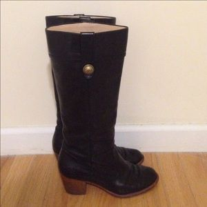 Coach Brown Leather Boots