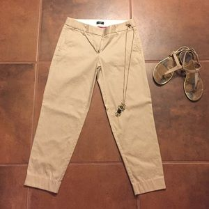 NWOT Jcrew tan slacks