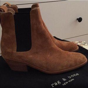 Shoes - Rag and Bone Dixon boots in Cognac.