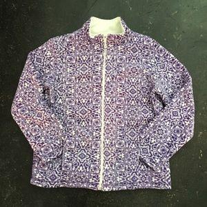 Laura Scott Jackets & Blazers - Laura Scott Jacket NWOT Fleece Zip Up w/ Pockets M