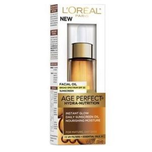 L'Oreal Other - Age-perfect Hydra-Nutrition Facial Oil Sunscreen