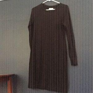 Black comfy dress