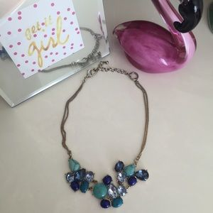 ⛔️🌟Blue Stoned Necklace🌟⛔️