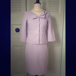 Lee Anderson New York Dresses & Skirts - ‼️Vintage Couture Lavender Suit Size 2P‼️