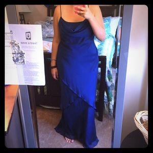 Nightway Dresses & Skirts - Blue floor length dress