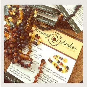 Healing amber Jewelry - Healing Amber teething necklace brand new
