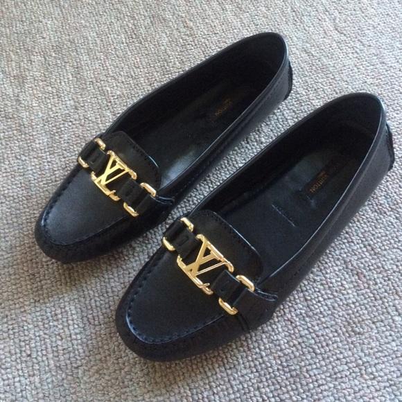 0 Authentic Louis Vuitton Oxford Flat