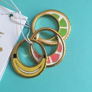kate spade Jewelry - Sparkly ♠️ Fruit Ring Set