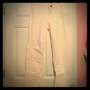 Size 33R Matchstick Corduroy pant. Off-white