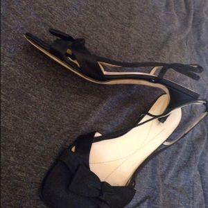 Kate Spade black heels