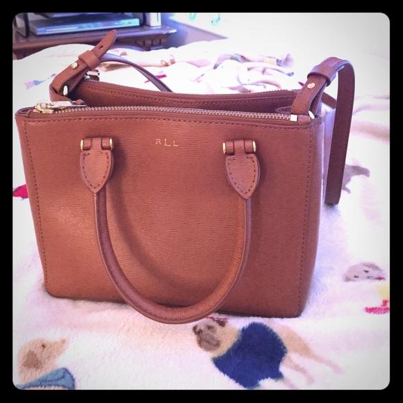ralph lauren striped tee ralph lauren newbury handbag